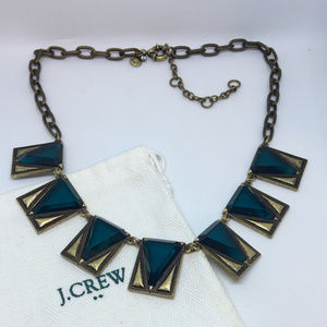 J. Crew Necklace Glass Choker Bold & Brilliant